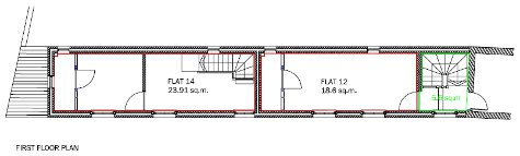Flats 12 and 14 plan